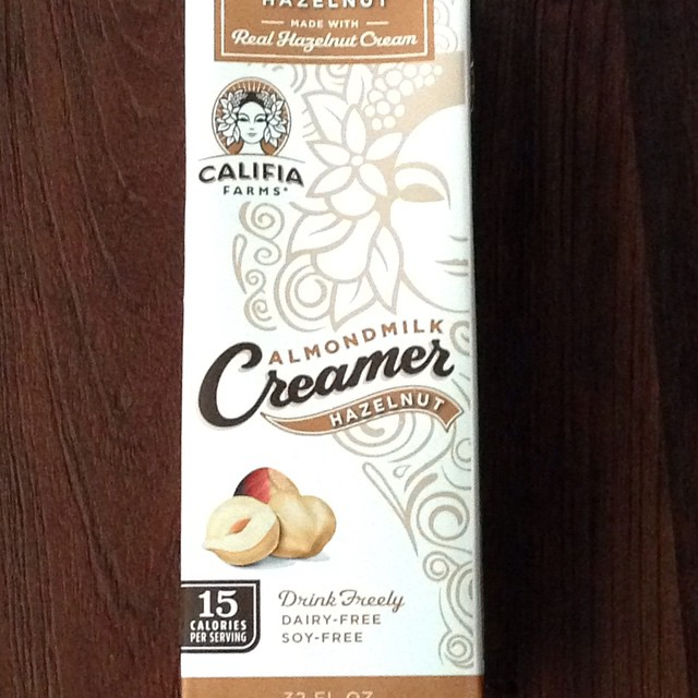 My #unique #find of the day was on my #wishlist for the last two years. @califiafarms #almond #milk #hazelnut flavor #coffee #creamer in a #bpa #free pack. Feels great to say bye for good to coffee chains that don't serve #almond #milk